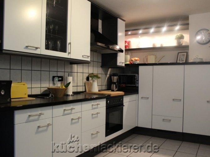 Ziemlich Küche Lackieren Ideen - Hauptinnenideen - nanodays.info